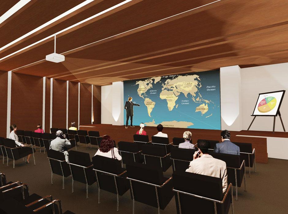 Sal n de usos m ltiples for Salon de usos multiples programa arquitectonico